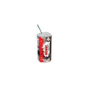 foto - Červený stroboskop+bílá dýmovnice